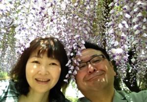 藤の花より団子(^_^)in八幡東区の河内藤園_d0082356_1916752.jpg