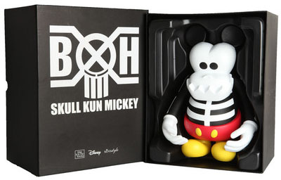 BxH Skull Kun Mickey by CLOT_e0118156_23365646.jpg