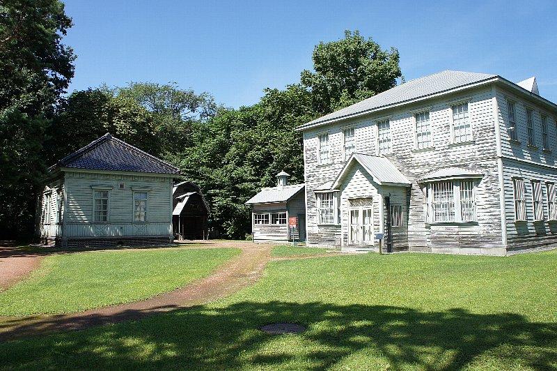 北海道大学農学部植物園 バチェラー記念館_c0112559_13184919.jpg