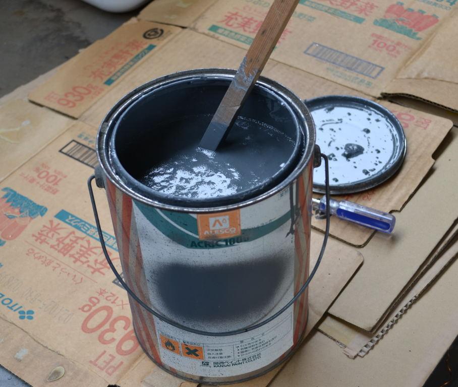 PROJECT 15A  スロート内側の塗装_d0188275_1361046.jpg