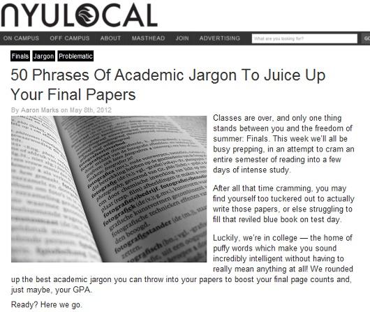ニューヨーク大学の学生新聞に掲載された「期末論文を魅力的に見せる50個の学術用語」_b0007805_7442728.jpg