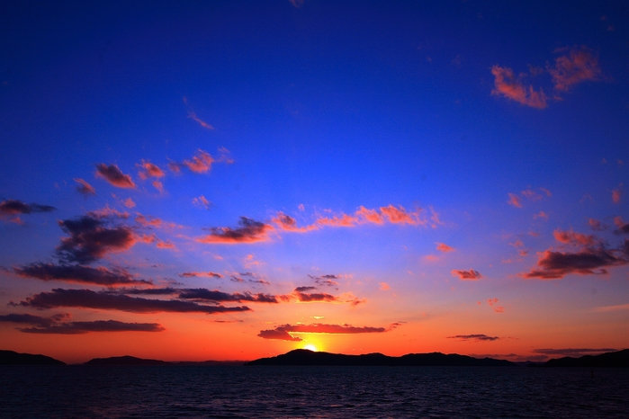沙弥島からの夕景@香川_c0247313_7535277.jpg
