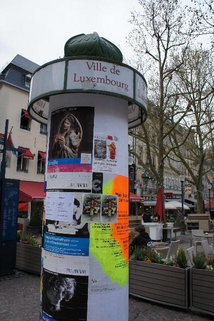 ルクセンブルクの旅 (7) ダルム広場のカフェ・フランセで休憩_c0011649_1245847.jpg