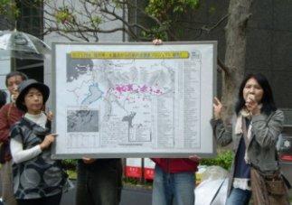 風船飛ばしから始まった関西電力本店前アクション-4_f0197754_1342819.jpg