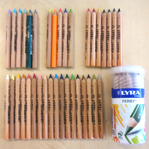 LYRA社ファルビー色鉛筆の廃番色について_a0121669_1232393.jpg