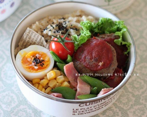 今日のお弁当 ☆ 筍と茄子のコロコロ麻婆丼♪_c0139375_11475594.jpg