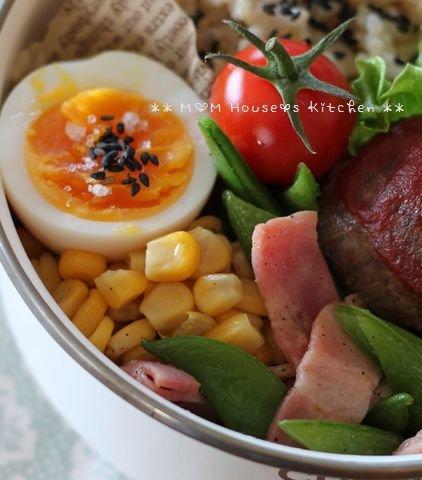 今日のお弁当 ☆ 筍と茄子のコロコロ麻婆丼♪_c0139375_11481823.jpg
