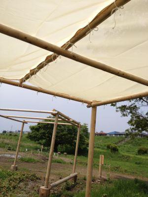 テントを張ってみた_c0091679_12105925.jpg