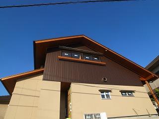 「白沢の家」 外部足場が取れました!_f0059988_19314059.jpg