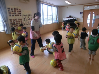2012.5月8日 スギっ子巡回指導 in ふじ保育園_e0272194_13464043.jpg