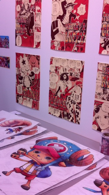 素晴らしい!現代アート「ONE PIECE 展」_f0083294_22302157.jpg