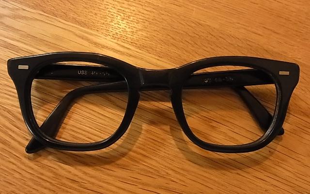 ビンテージ シュロン眼鏡フレーム&U.S.Sミリタリーフレーム。_c0144020_14562090.jpg