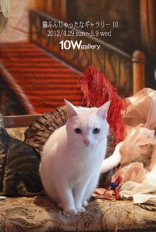 『猫ふんじゃったなギャラリー10』は終了しました。_f0138928_9134777.jpg