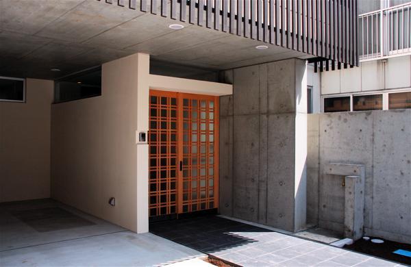 「浅草の家」外観・玄関_f0230666_16411643.jpg