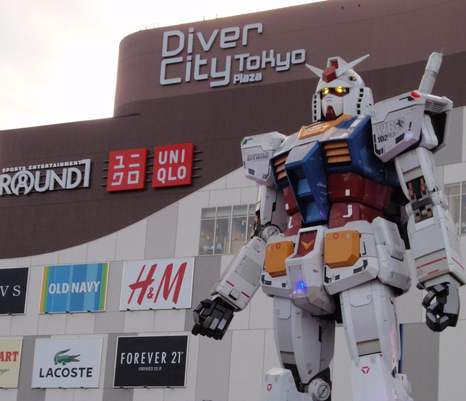 Diver City Tokyo Diver City Tokyo Plaza