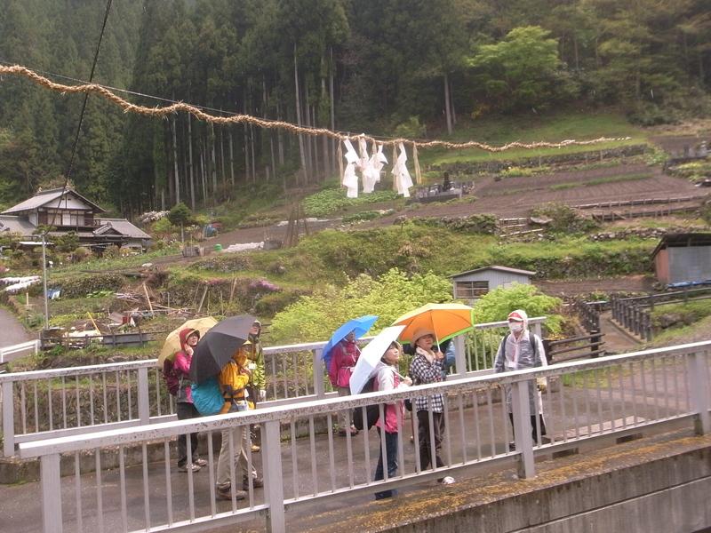 5月6日 野栗古道ハイキング 開催しました。が・・・_b0209774_1757765.jpg