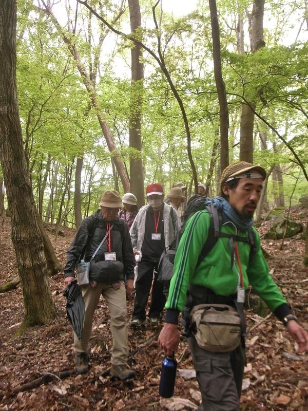 5月6日 野栗古道ハイキング 開催しました。が・・・_b0209774_1961816.jpg