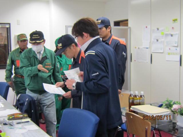 H24年度 第1回防災訓練♪_a0158095_15101460.jpg