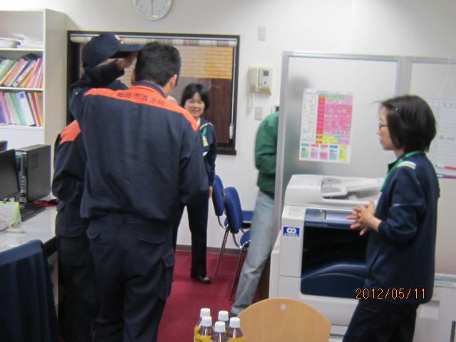 H24年度 第1回防災訓練♪_a0158095_1517279.jpg