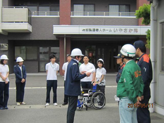 H24年度 第1回防災訓練♪_a0158095_15314117.jpg