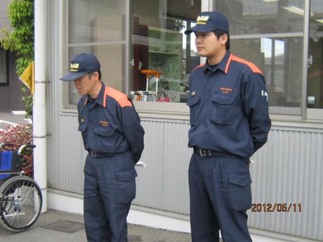 H24年度 第1回防災訓練♪_a0158095_15321434.jpg