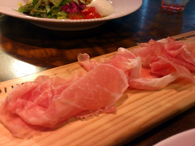 お肉にこだわったイタリアン CHICCIANO _b0119719_1515199.jpg