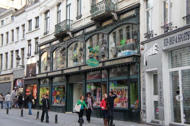 ベネルクスの旅の食事と酒 (5) 首都ブリュッセルのレストラン_c0011649_0243548.jpg