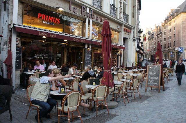 ベネルクスの旅の食事と酒 (5) 首都ブリュッセルのレストラン_c0011649_0255767.jpg