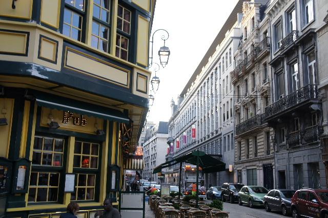 ベネルクスの旅の食事と酒 (5) 首都ブリュッセルのレストラン_c0011649_033402.jpg