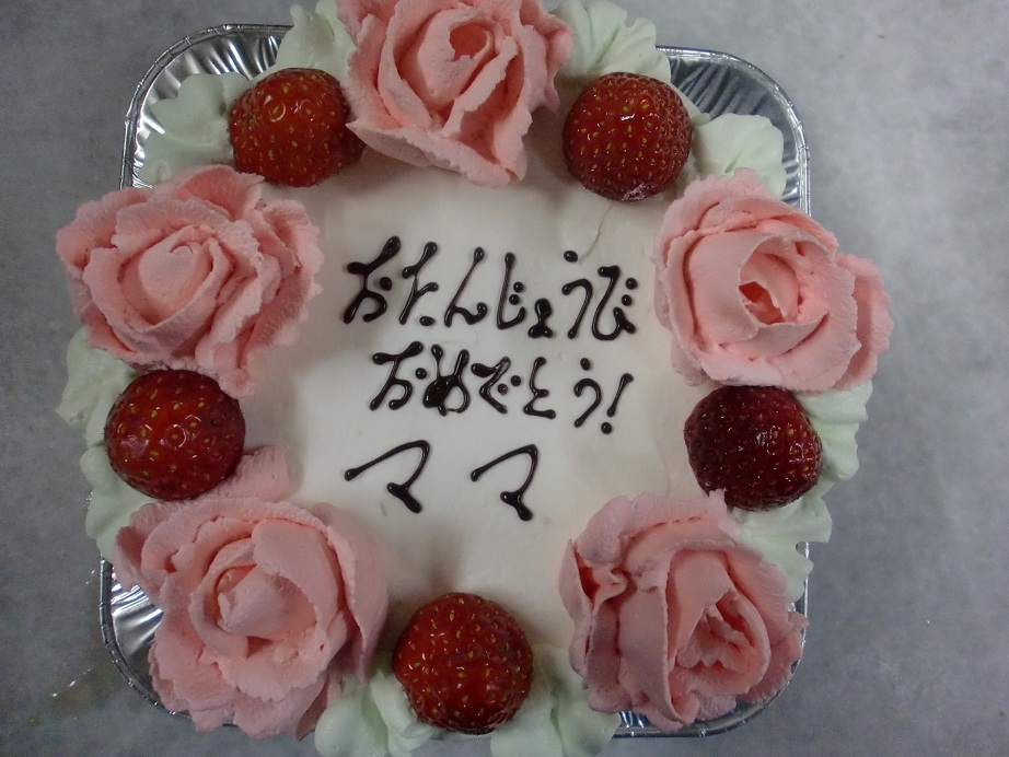 生クリームの薔薇_f0173549_16363312.jpg