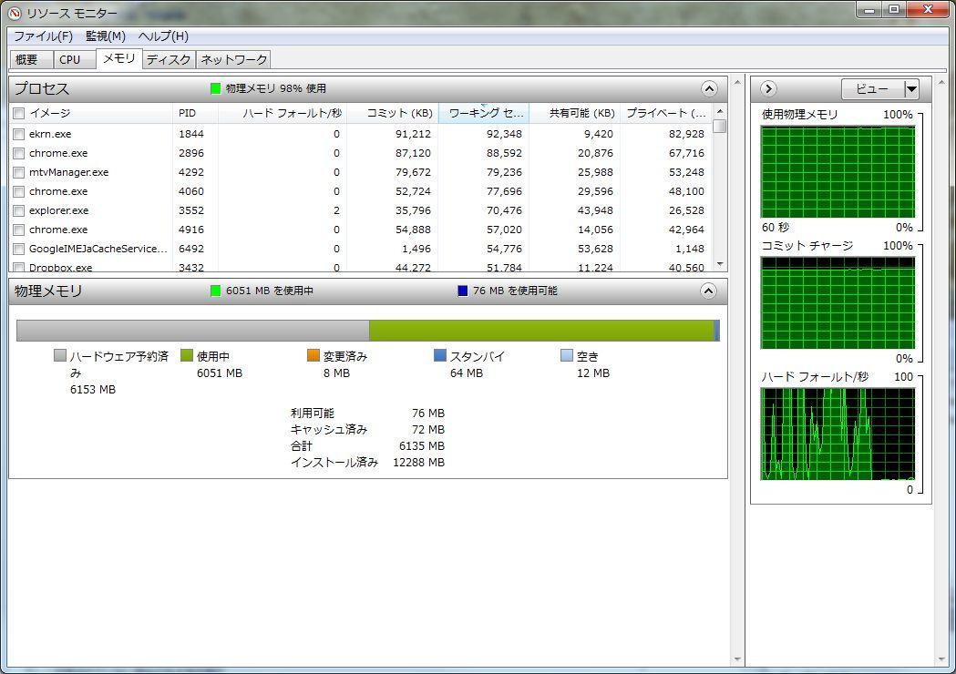 メモリ増設したのに「ハードウェア予約済み」とかで利用できない_e0091163_12234385.jpg