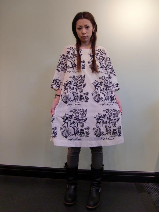 おやゆび姫の チュニックワンピース_b0117913_22174718.jpg