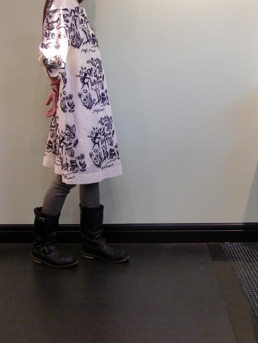 おやゆび姫の チュニックワンピース_b0117913_22191081.jpg