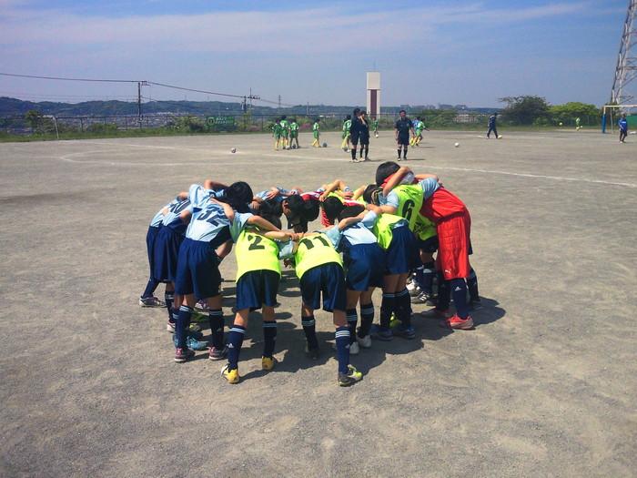 5年生 第63回あすなろ杯少年サッカー大会 予選第1日目_a0109316_2028285.jpg