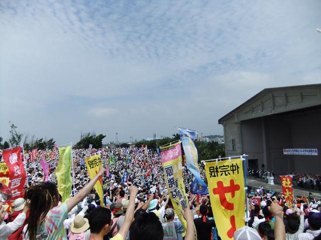 5月13日(日)沖縄闘争 その1_d0155415_0471758.jpg