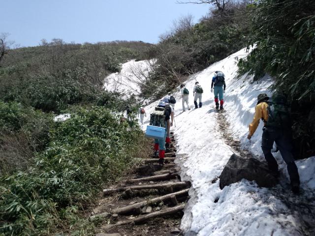 いよいよ新緑登山開始!_f0101226_2240571.jpg