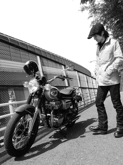 橋本 隆史 & kawasaki W650(2012 0429)_f0203027_11562744.jpg