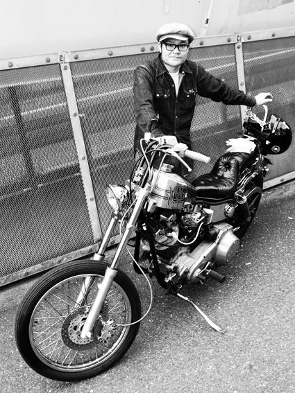 河島 寿文 & Harley-Davidson FLH(2012 0425)_f0203027_13404455.jpg