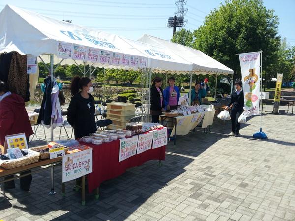 本庄総合公園春祭り!_a0259243_1033529.jpg