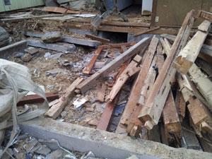 昭和30年代建物~解体~_e0251265_19225313.jpg