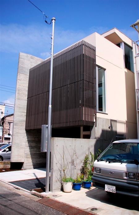 「浅草の家」外観・玄関_f0230666_11351057.jpg