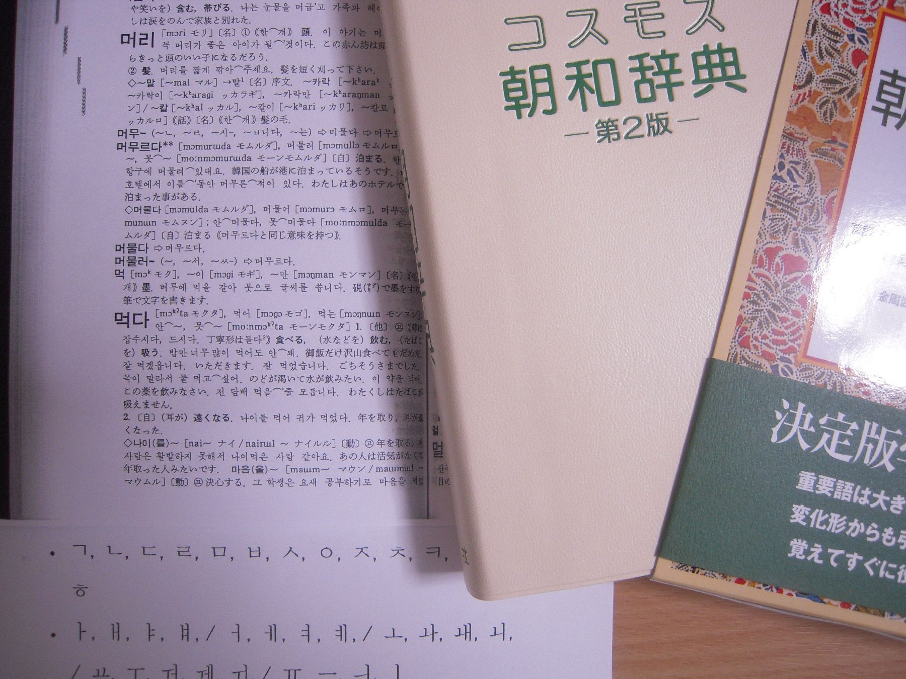コスモス朝和辞典買いました(5月13日)_c0059093_174318.jpg