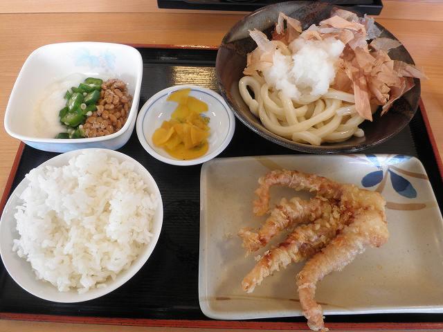 讃岐製麺      箕面半町店_c0118393_1916535.jpg