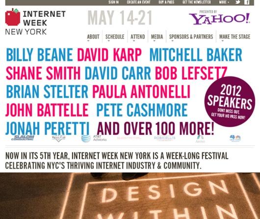 ニューヨークでインターネットのお祭り開催中 Internet Week New York_b0007805_12475218.jpg