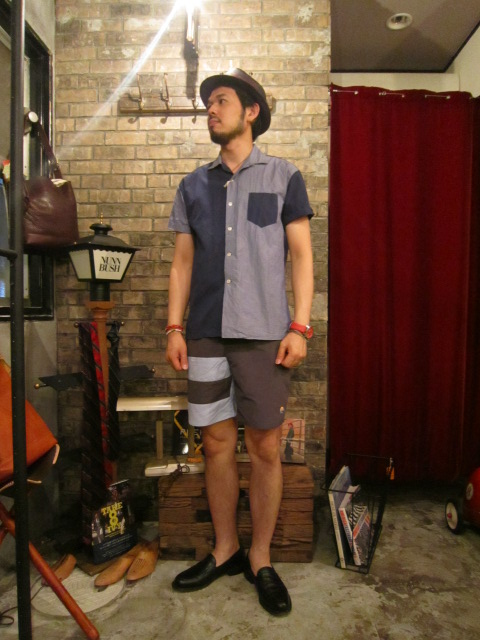 "MORNING COLLECTION bymelple""surf shorts Manhattan""のご紹介_f0191324_23533176.jpg"