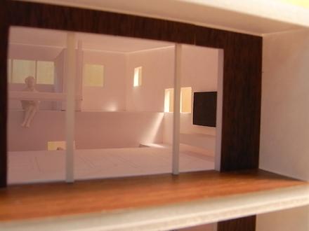『小和滝の家(こわだきのいえ)』模型スタディ中_e0197748_1581959.jpg