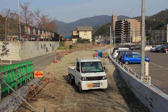 JR瀬野駅北口道路建設中 その後 4月_b0095061_1336458.jpg