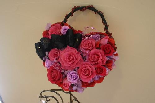 Pink Bag Bouquet_b0154874_10504149.jpg