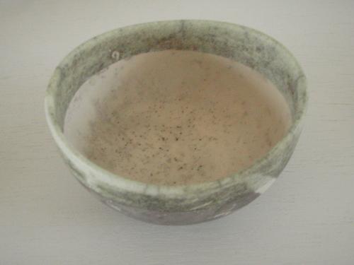 打田 翠 作  楽 抹茶碗 -far-_d0133475_17401719.jpg