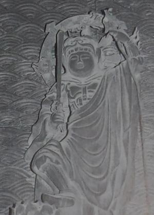(洛東) 勝軍地蔵  清水寺本堂内_a0045381_222678.jpg